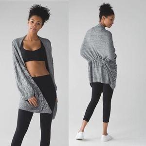 [Lululemon] Oversized Breeze Easy Wrap Sweater
